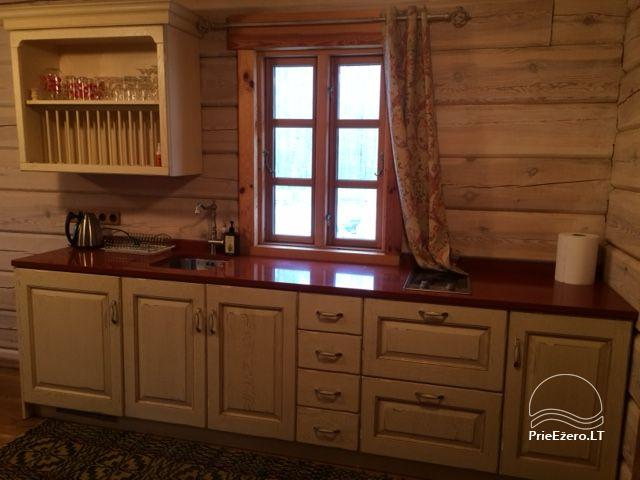 Atostogų namelis Baublys Lake Lodge - 13