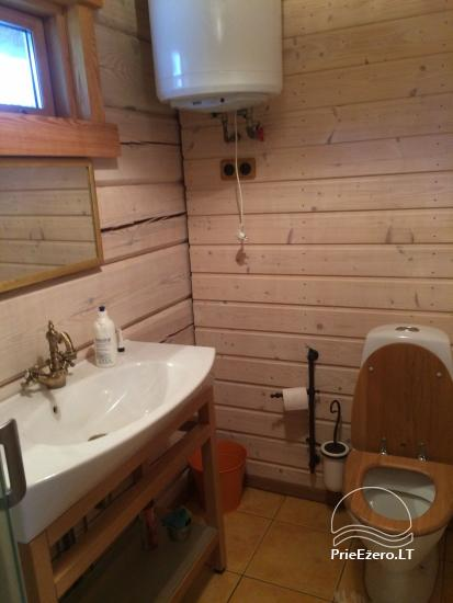 Atostogų namelis Baublys Lake Lodge - 16