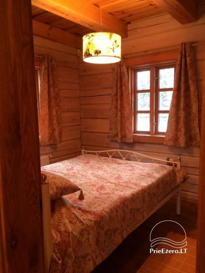 Atostogų namelis Baublys Lake Lodge - 22