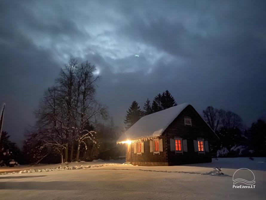 Atostogų namelis Baublys Lake Lodge - 12