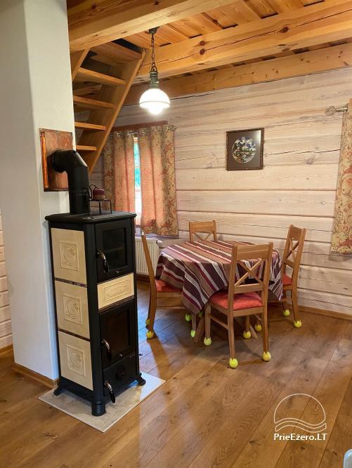Atostogų namelis Baublys Lake Lodge - 15