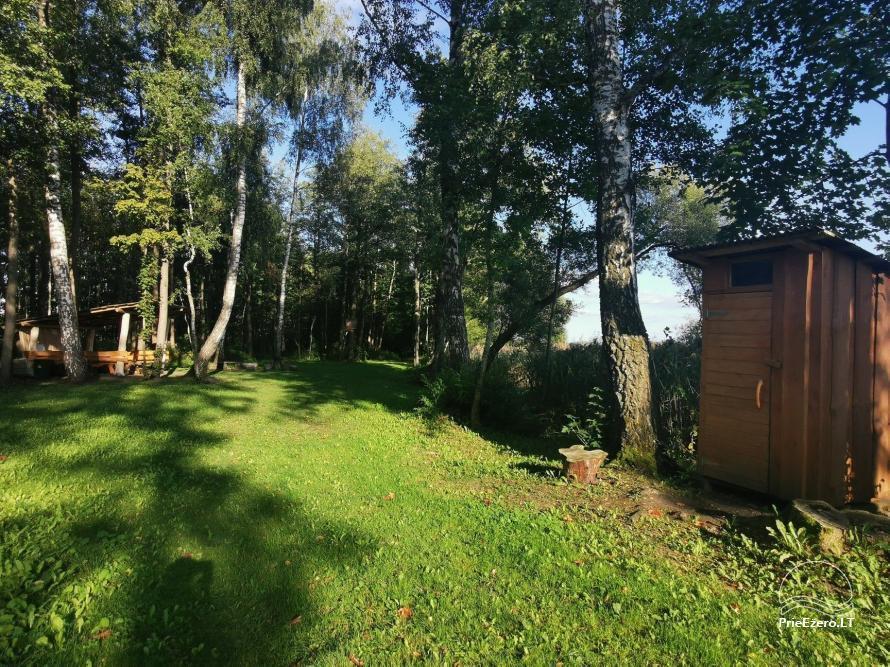 Sodyba ir BAIDARIŲ NUOMA Ignalinos rajone Super baidarės, STOVYKLAVIETĖS nakvynei palapinėse - 48