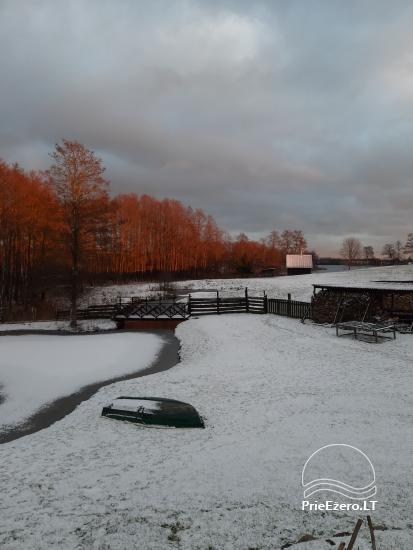 Sodyba prie Ilmėdo ežero – Namas, pirtis, kubilas - 30