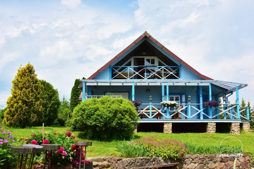 Sodyba prie Ilmėdo ežero – Namas, pirtis, kubilas - 3