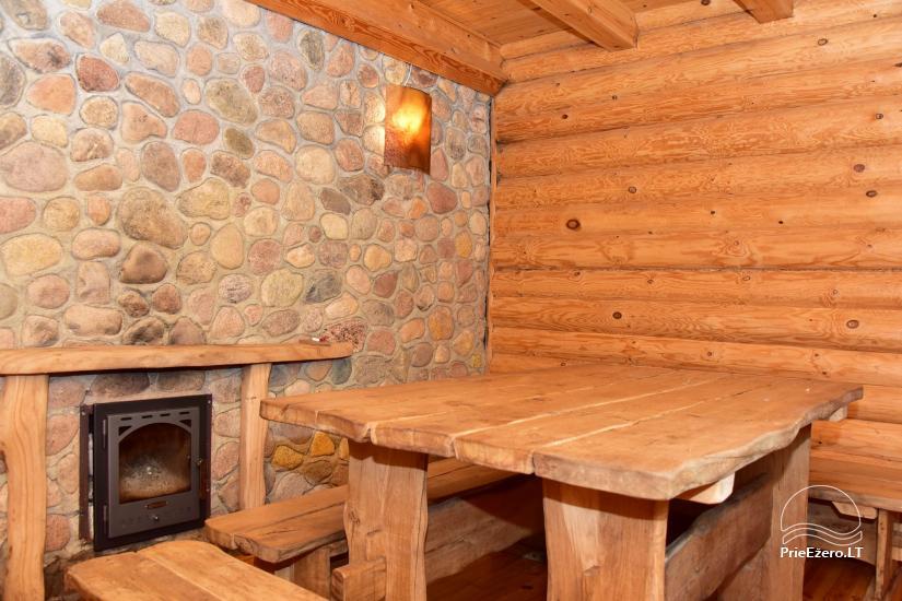 Sodyba prie Ilmėdo ežero – Namas, pirtis, kubilas - 21