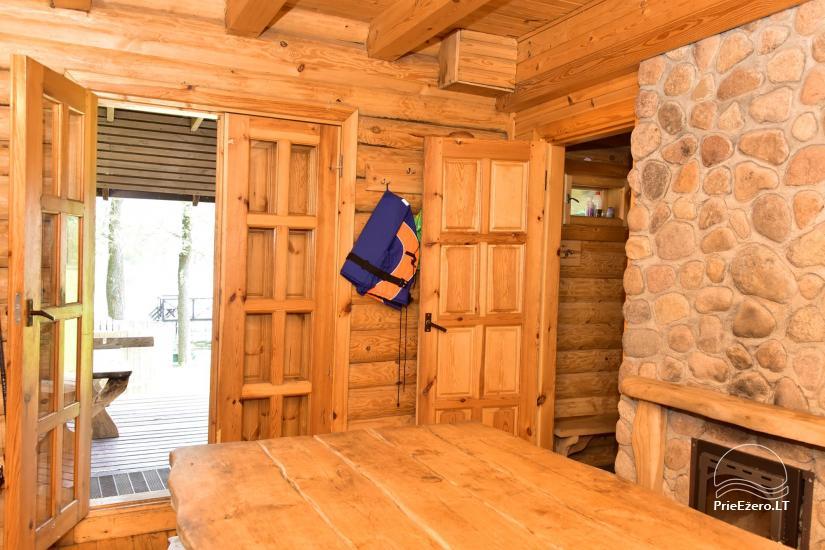 Sodyba prie Ilmėdo ežero – Namas, pirtis, kubilas - 22