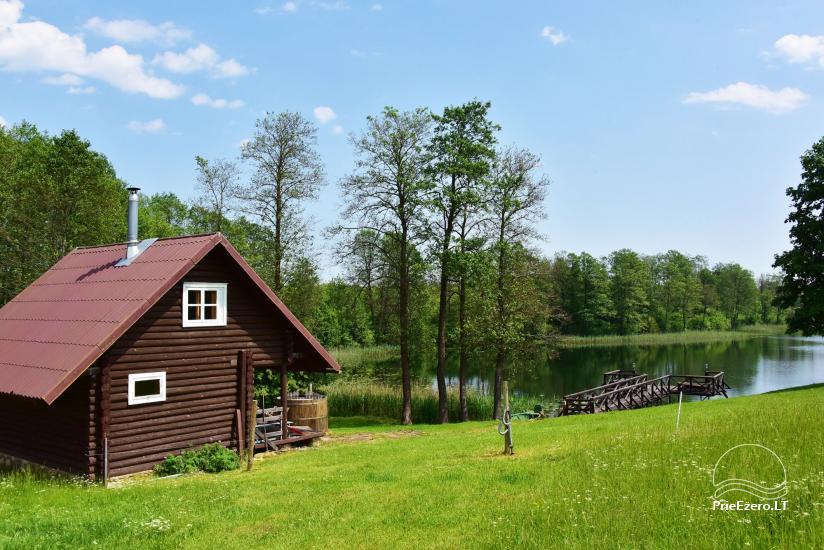 Sodyba prie Ilmėdo ežero – Namas, pirtis, kubilas - 19