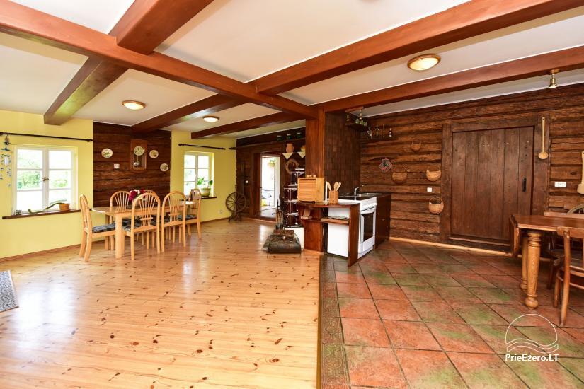 Sodyba prie Ilmėdo ežero – Namas, pirtis, kubilas - 8
