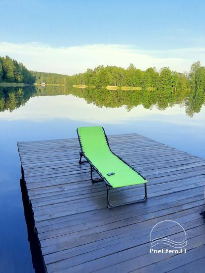 Sodyba ant ežero kranto ramiam poilsiui - 2
