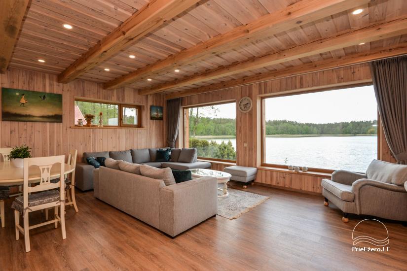 Vila Lato ant ežero kranto, šalia Druskininkų - 5