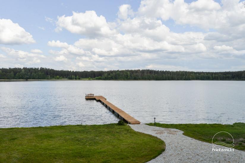 Vila Lato ant ežero kranto, šalia Druskininkų - 23