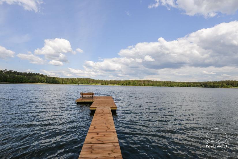 Vila Lato ant ežero kranto, šalia Druskininkų - 21