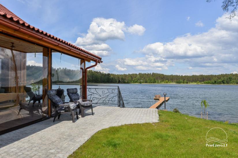 Vila Lato ant ežero kranto, šalia Druskininkų - 19