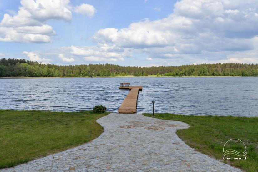 Vila Lato ant ežero kranto, šalia Druskininkų - 22