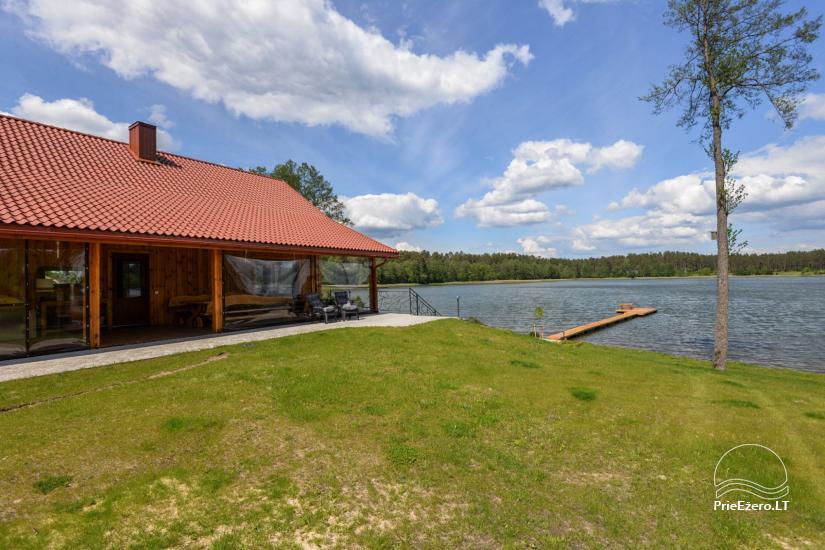 Vila Lato ant ežero kranto, šalia Druskininkų - 20