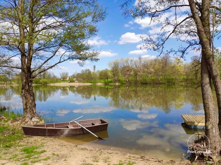 Saločio ežero nameliai - 1