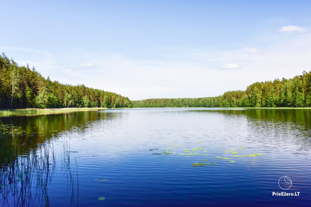 Poilsio nameliai dviems ant Žeimenio ežero kranto - 17