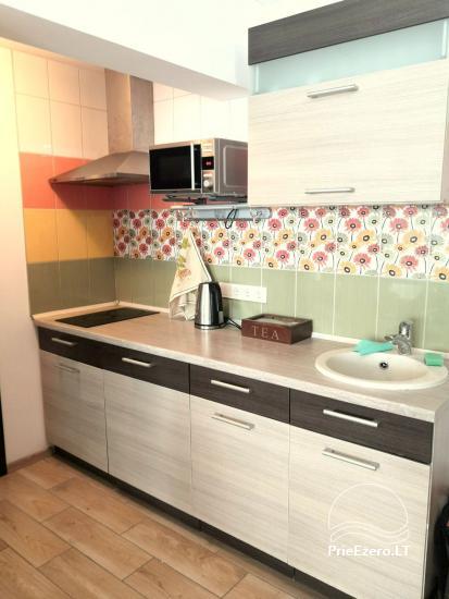 Apartamentai renovuotame name Druskininkuose (2-4asm.). Yra kabelinė, Wi-Fi, skalbimo mašina. 5min. iki grojančio fontano - 3
