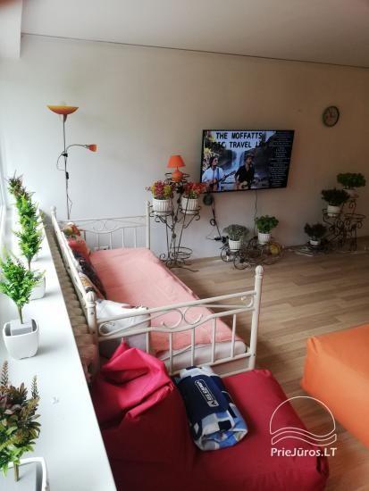 Nuomojamas modernus butas Rusnėje su terasa (iki 6 svečių). Miestelis tinka žvejybai - 11