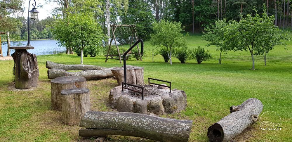 Aiseto ąžuolai - sodyba Utenos rajone prie Aiseto ežero - 14