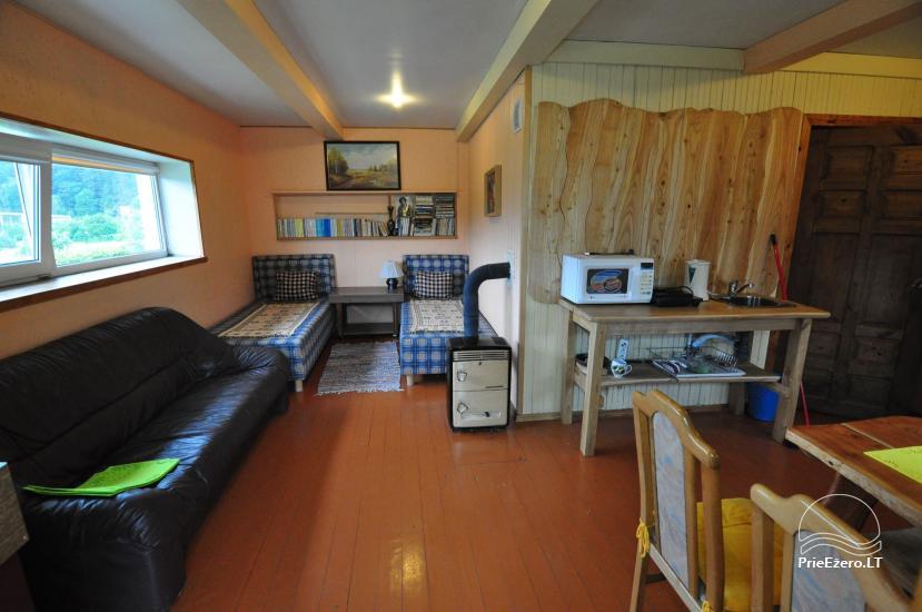 Kambariai prie žiemos centro Ignalinoje - 1