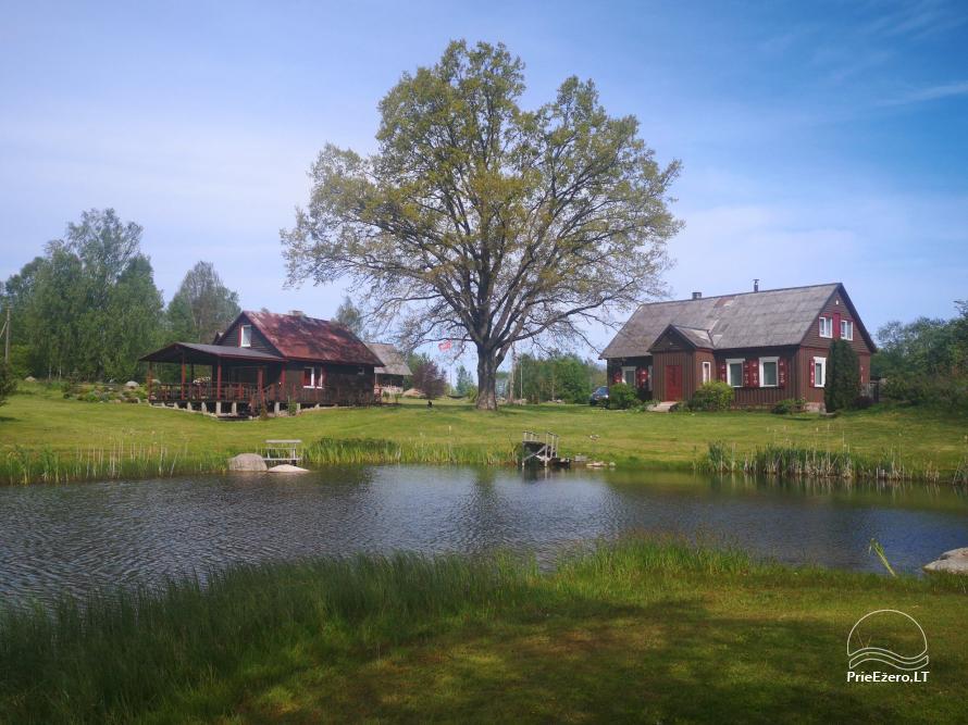 Raseinių raj., dviejų upelių santakoje įsikūrusi sodyba Pumpurų vienkiemis - 9