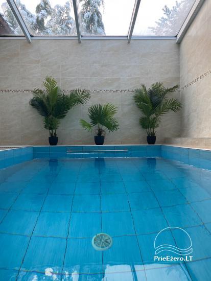 Agluonėnų parko apartamentai + SPA / Baseinas / Jacuzzi / Pirtis - 3