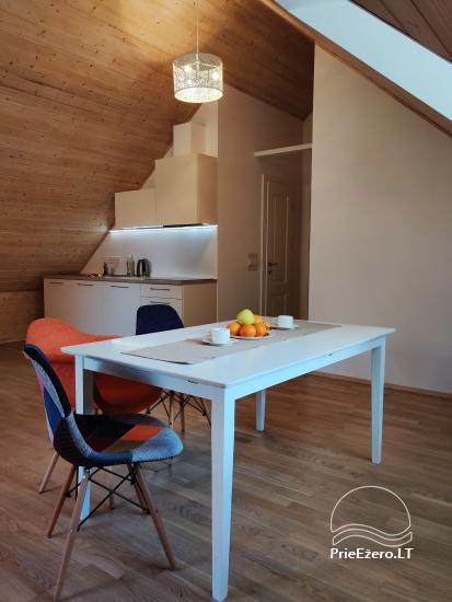 Modernūs apartamentai Trakų centre prie ežero - 9
