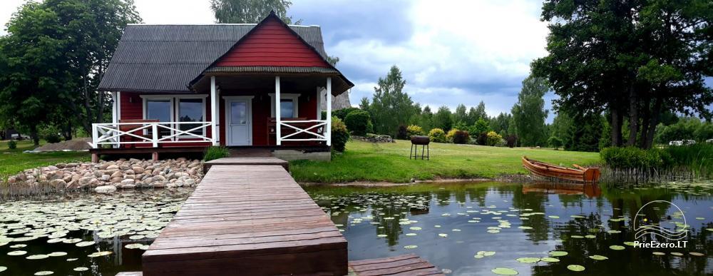 Sodyba Zarasų rajone prie Nečesko ežero - 1