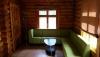7-vietis medinis namelis su patogumais