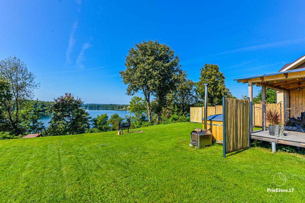 Atostogų namelis Volungė prie ežero kranto - 17