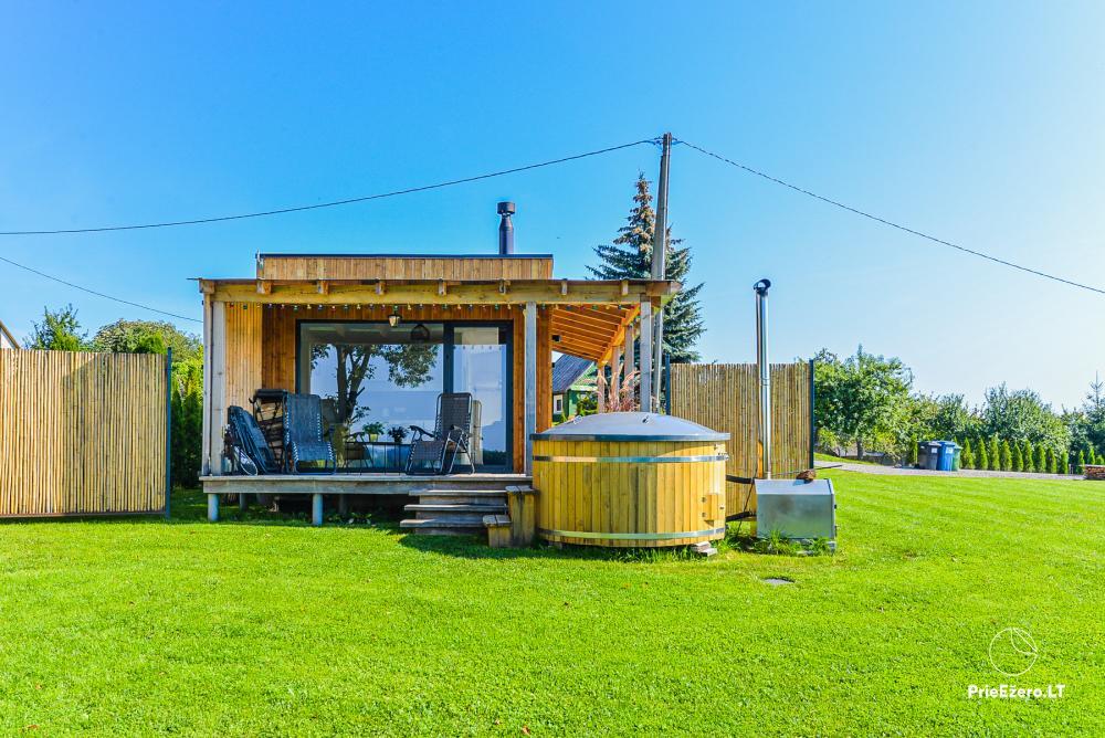 Atostogų namelis Volungė prie ežero kranto - 1