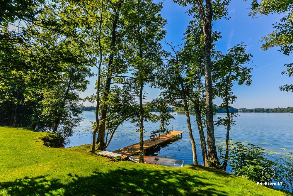 Atostogų namelis Volungė prie ežero kranto - 15