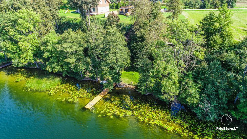 Atostogų namelis Volungė prie ežero kranto - 12