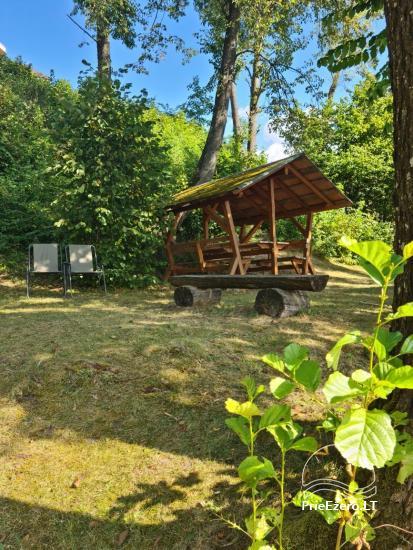 Atostogų namelis Volungė prie ežero kranto - 16