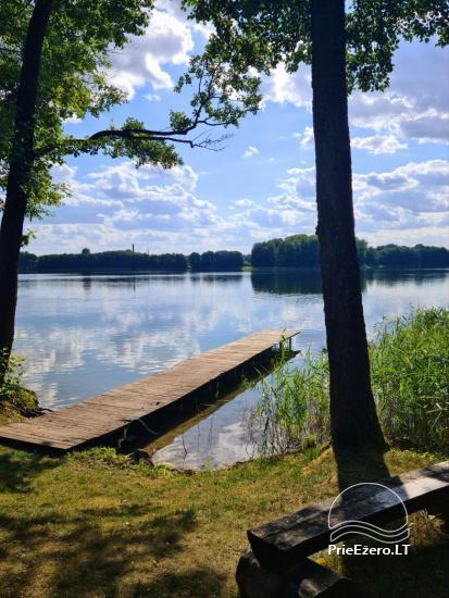 Atostogų namelis Volungė prie ežero kranto - 2