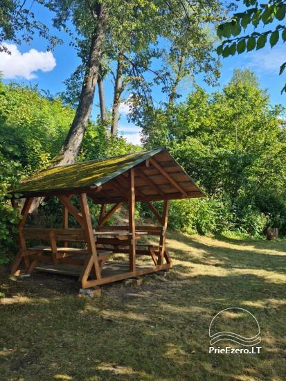 Atostogų namelis Volungė prie ežero kranto - 18