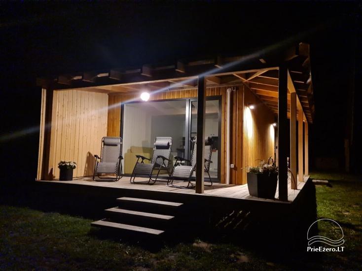 Atostogų namelis Volungė prie ežero kranto - 36