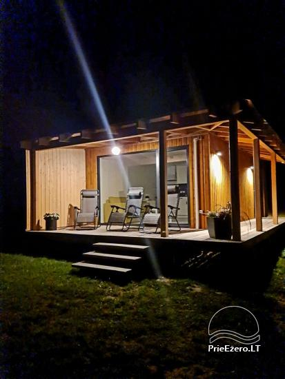 Atostogų namelis Volungė prie ežero kranto - 35