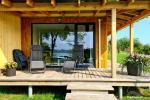 Atostogų namelis Volungė prie ežero kranto