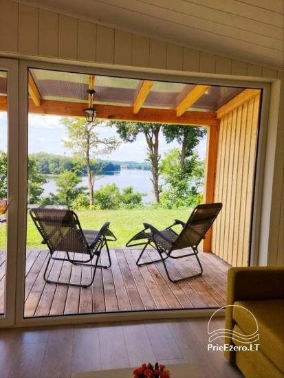 Atostogų namelis Volungė prie ežero kranto - 21
