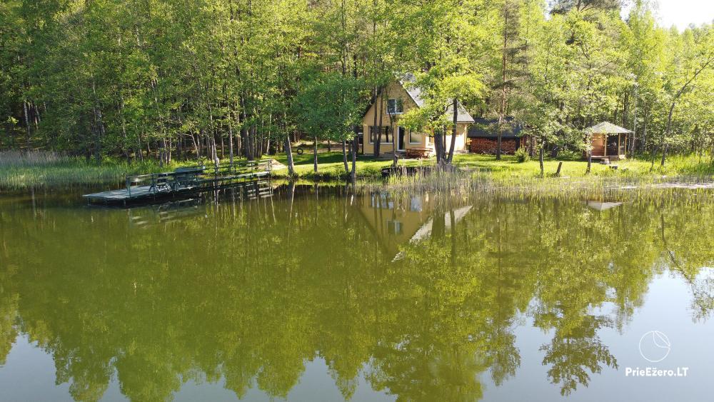 """""""Vilko namai"""" ant Uolio ežero kranto - 23"""