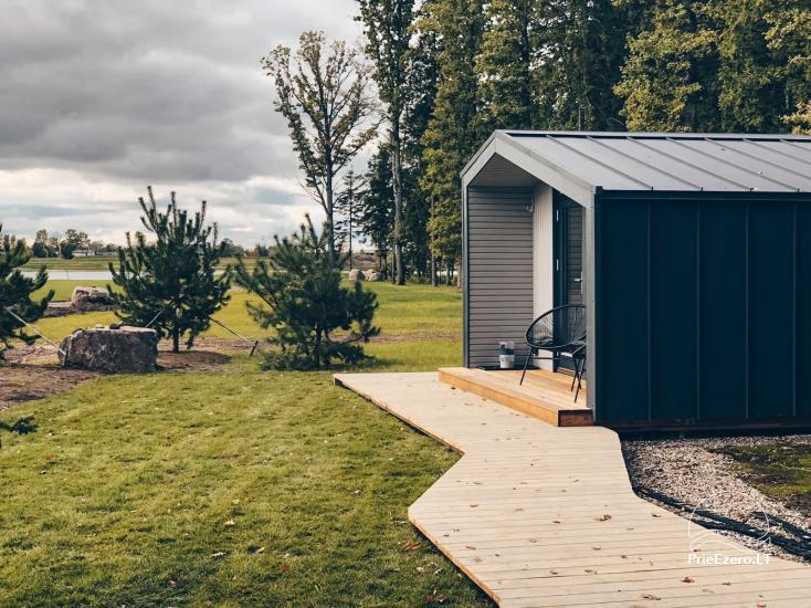 16 m2 ploto šiltas namelis, pritaikytas gyventi ir žiemą, karantino metu - 2
