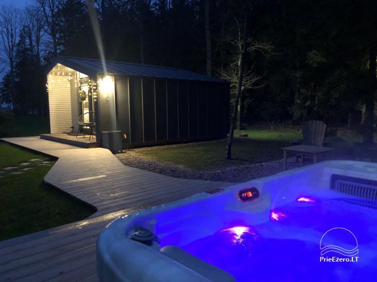 16 m2 ploto šiltas namelis, pritaikytas gyventi ir žiemą, karantino metu - 1