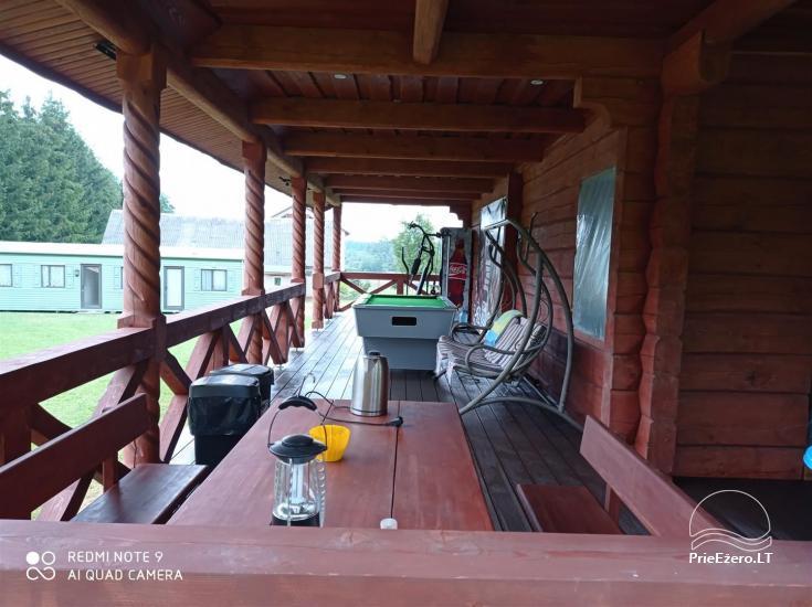Sodyba prie Rašio ežero - iki ežero 100 m. Kubilas, valtis - 4