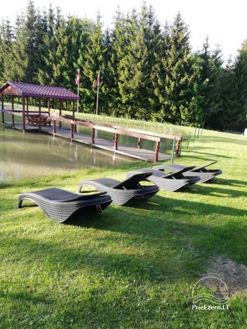 Sodyba prie Rašio ežero - iki ežero 100 m. Kubilas, valtis - 43