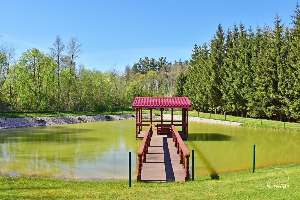 Sodyba prie Rašio ežero - iki ežero 100 m. Kubilas, valtis - 23