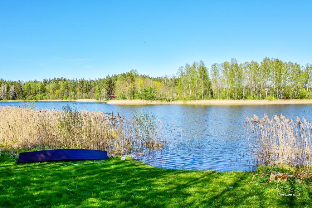 Sodyba prie Rašio ežero - iki ežero 100 m. Kubilas, valtis - 49