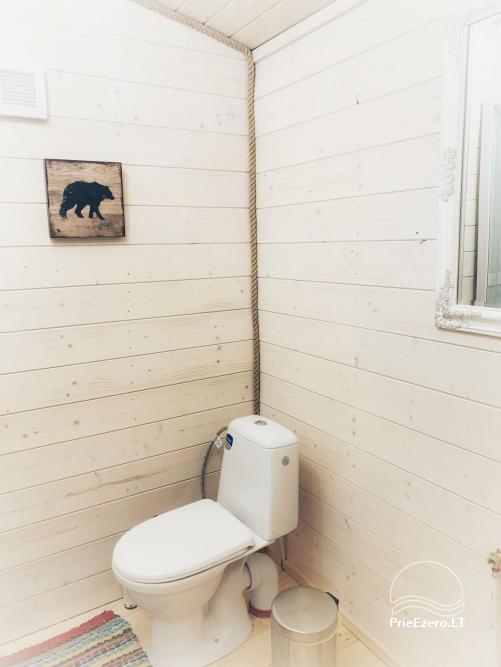 Wood house in Dvarcenai - Retreat in nature! - 17