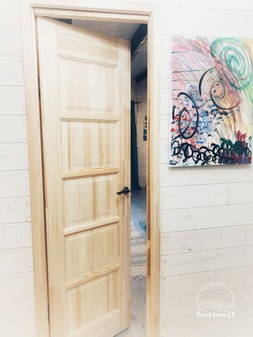Wood house in Dvarcenai - Retreat in nature! - 5